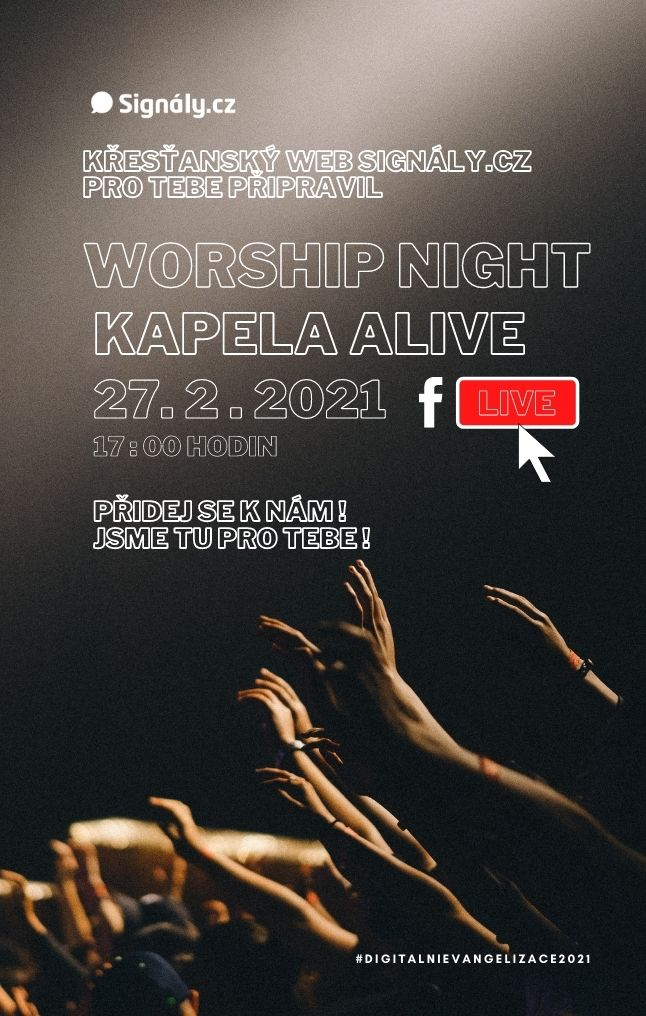 Signály Worship Night - kapela ALIVE