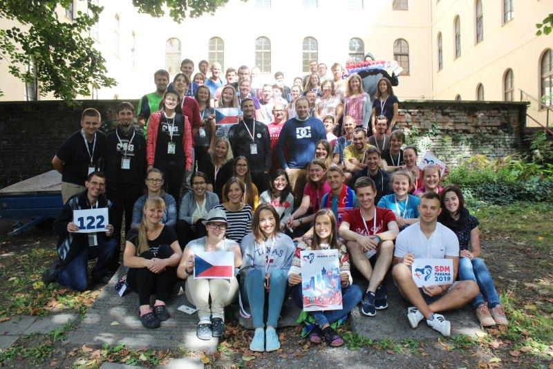 účastníci SDM Panama 2019 z ČR