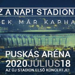 Toto je ten den! Stadion 2020